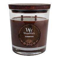 WoodWick Teakwood 17.2-oz. Jar Candle