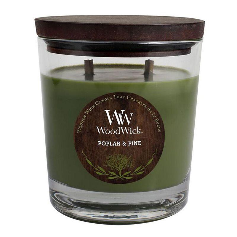 WoodWick Poplar and Pine 17.2-oz. Jar Candle
