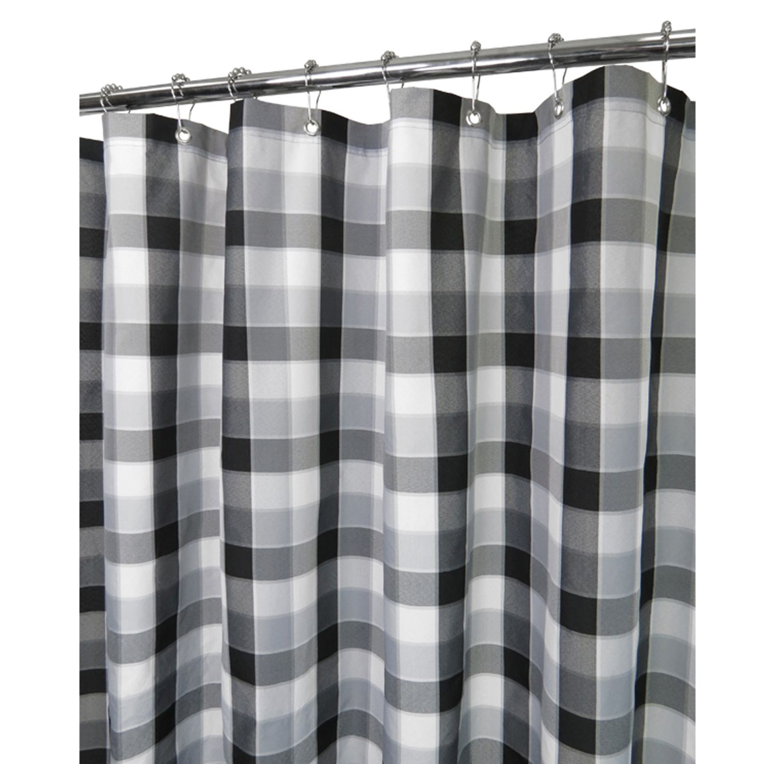 Park B Smith Shower Curtain Part   18: Park B Smith Dorset Solid Large  Grommet