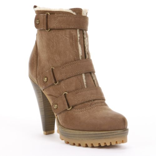 HeartSoul Keystone High-Heel Ankle Boots - Women