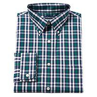 Big & Tall Croft & Barrow® Solid Easy-Care Button-Down Collar Dress Shirt
