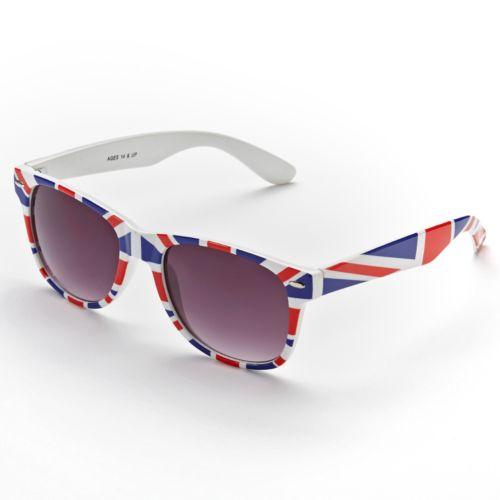 Fantas-Eyes Retro UK Square Sunglasses