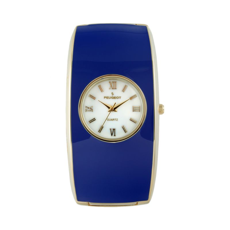 Peugeot Women's Cuff Watch, Blue thumbnail