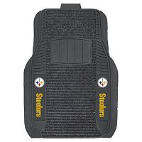 FANMATS 2-pk. Pittsburgh Steelers Deluxe Car Floor Mats