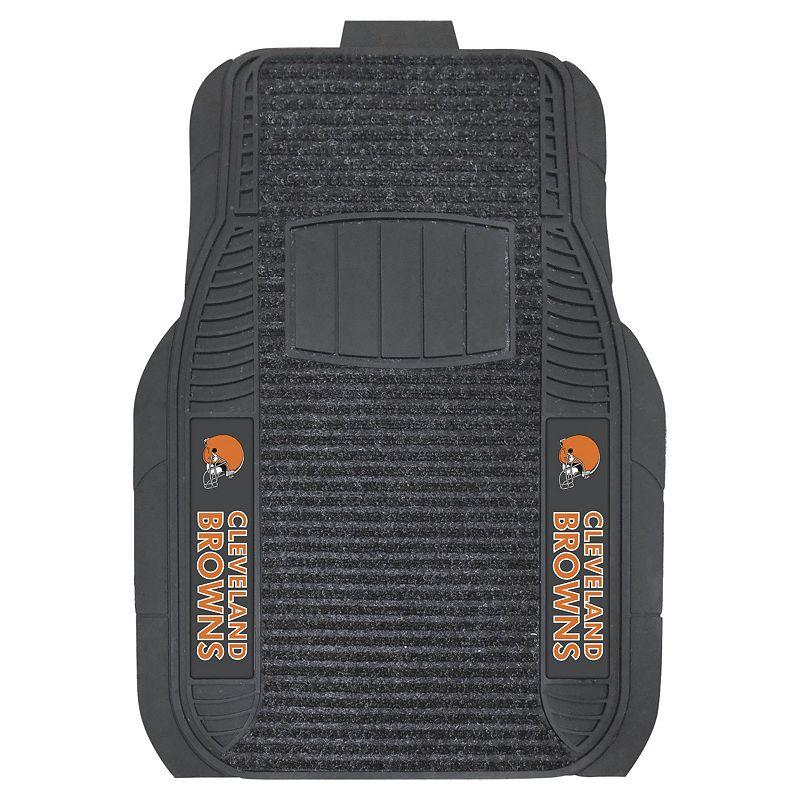 FANMATS 2-pk. Cleveland Browns Deluxe Car Floor Mats