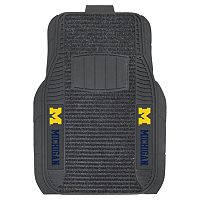 FANMATS 2-pk. Michigan Wolverines Deluxe Car Floor Mats