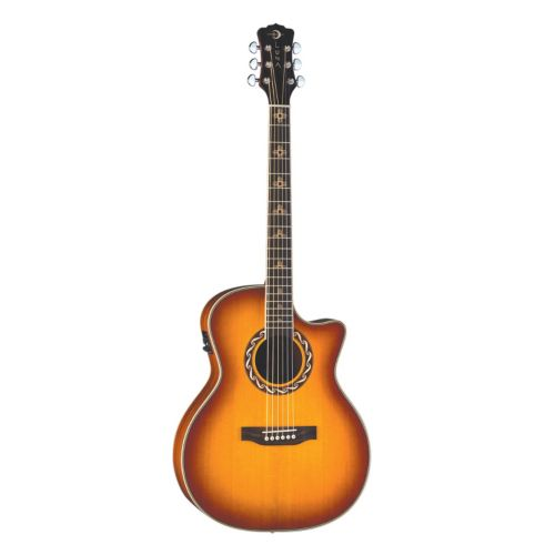 Luna Americana Zia Acoustic/Electric Guitar
