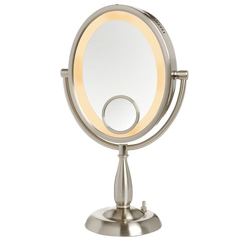 Jerdon 8-in. Lighted Vanity Mirror