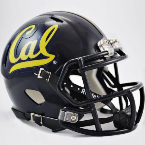 Riddell Cal Golden Bears Revolution Speed Mini Replica Helmet