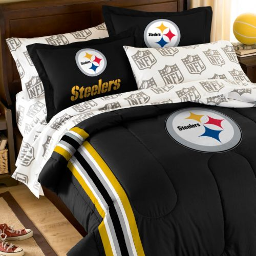Pittsburgh Steelers 5-Piece Full Bed Set