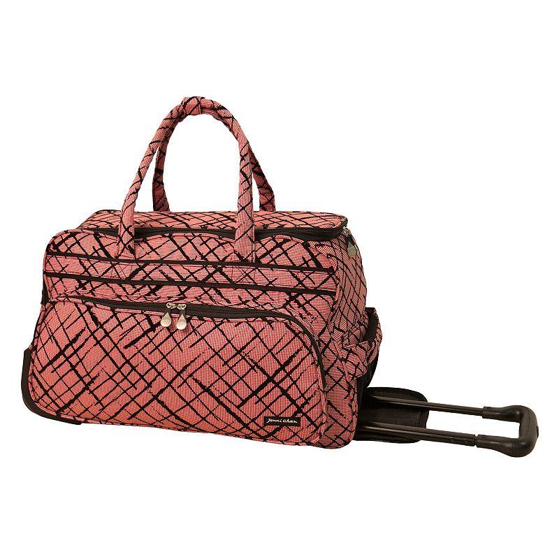 Jenni Chan Brush Strokes Rolling Duffel Bag