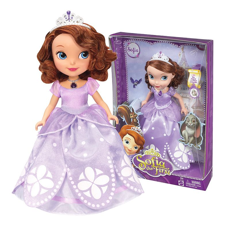 Disney Sofia the First 10-in. Doll by Mattel