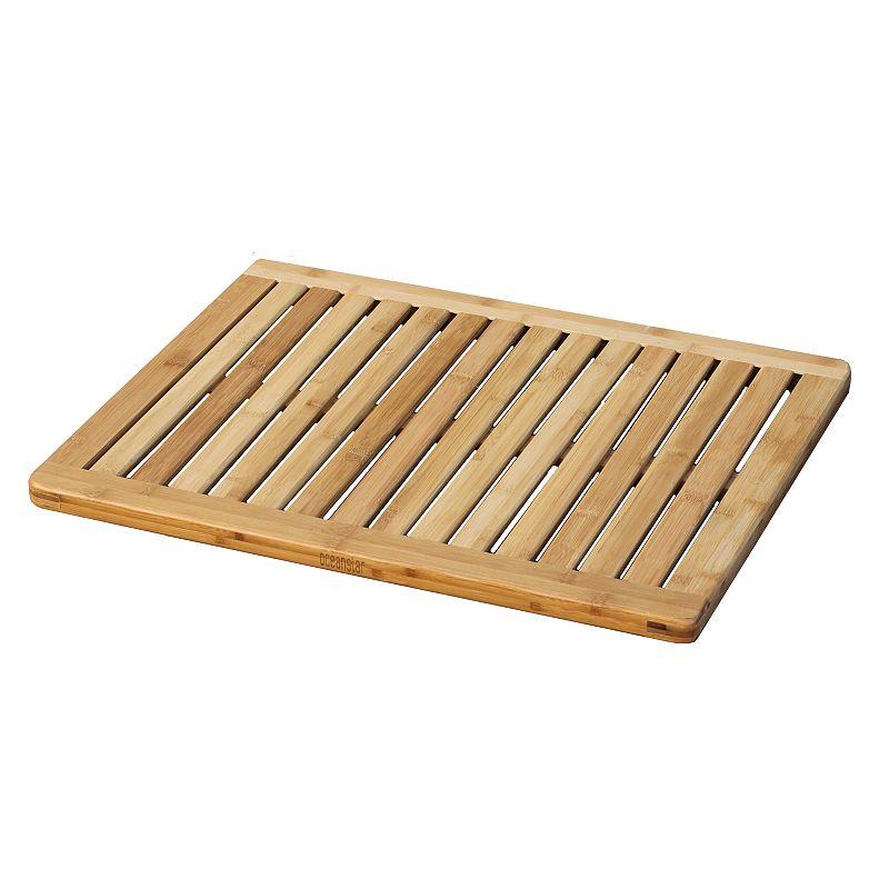 Oceanstar Bamboo Floor and Bath Mat