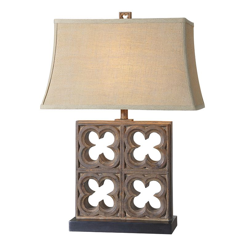 Imported Linen Shade Table Lamp