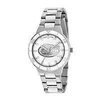 Game Time Pearl Series Florida Gators Stainless Steel & White Ceramic Mother-of-Pearl Watch - COL-PEA-FLA - Women