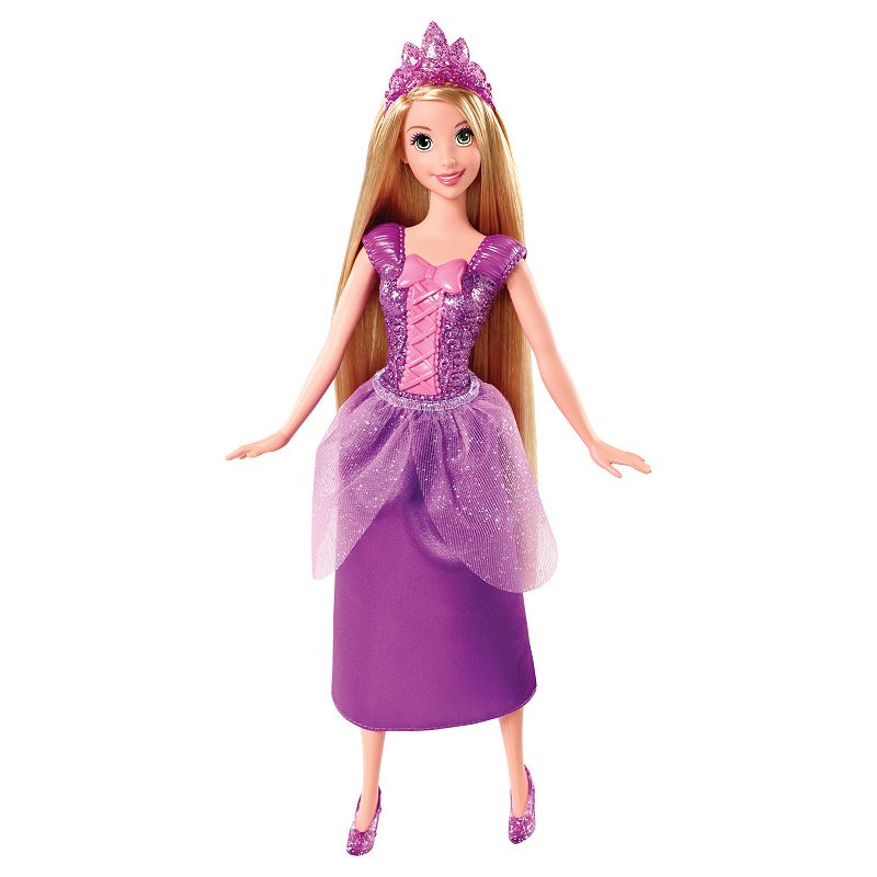 Disney Princess Sparkling Rapunzel Doll by Mattel