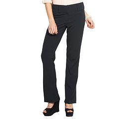 Juniors' Candie's Marilyn Side Tab Bootcut Dress Pants