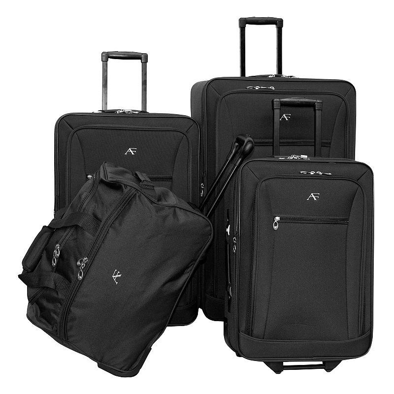 American Flyer Brooklyn 4-Piece Wheeled Luggage Set
