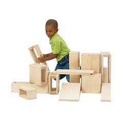 Guidecraft 16-pc. Junior Hollow Blocks Set by