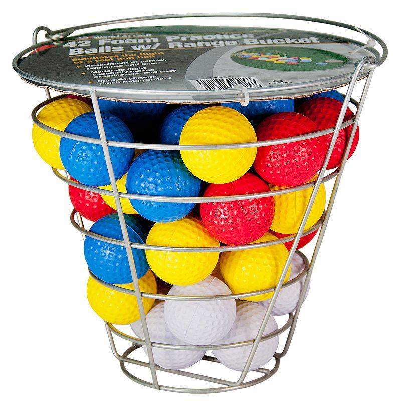 JEF World Of Golf JR416 42 Foam Balls In Bucket