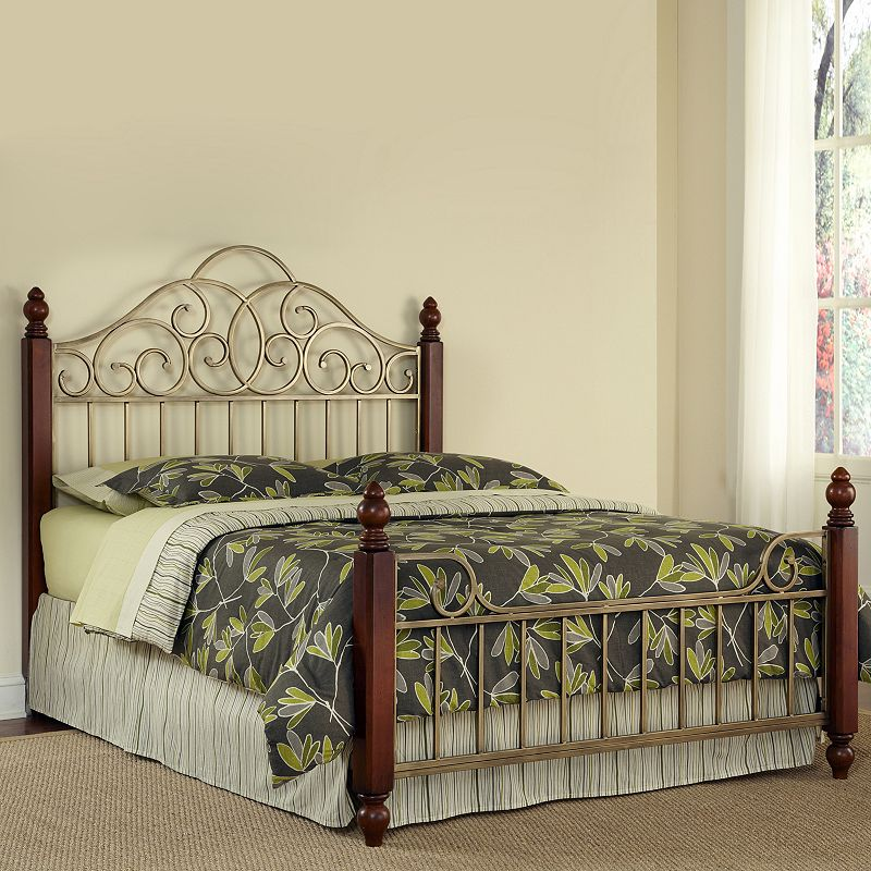St. Ives 3-pc. Queen Headboard, Footboard and Frame Set