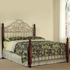 Home Styles St. Ives 3-pc. King Headboard, Footboard & Frame Set by