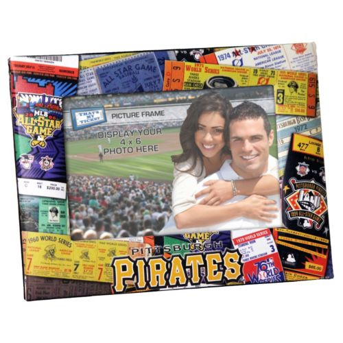Pittsburgh Pirates 4 x 6 Ticket Collage Picture Frame