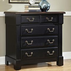 Aspen 4-Drawer Black Chest