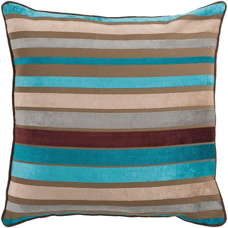 Decor 140 Bern Striped Decorative Pillow - 18'' x 18''