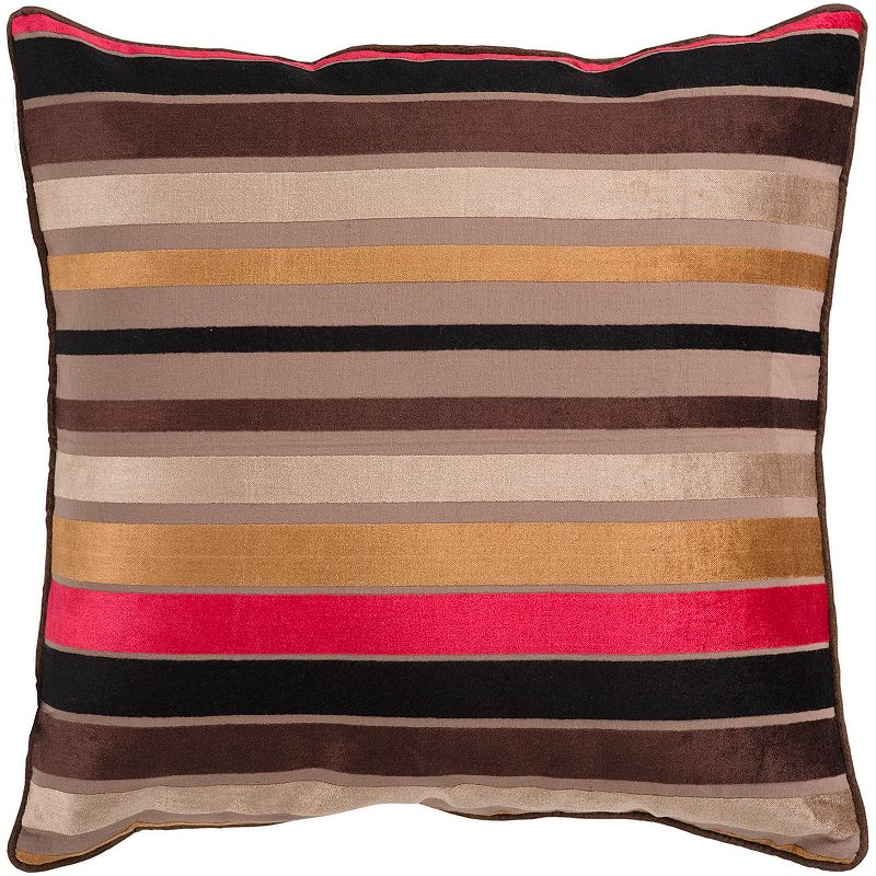 Decor 140 Bern Striped Decorative Pillow - 22'' x 22''