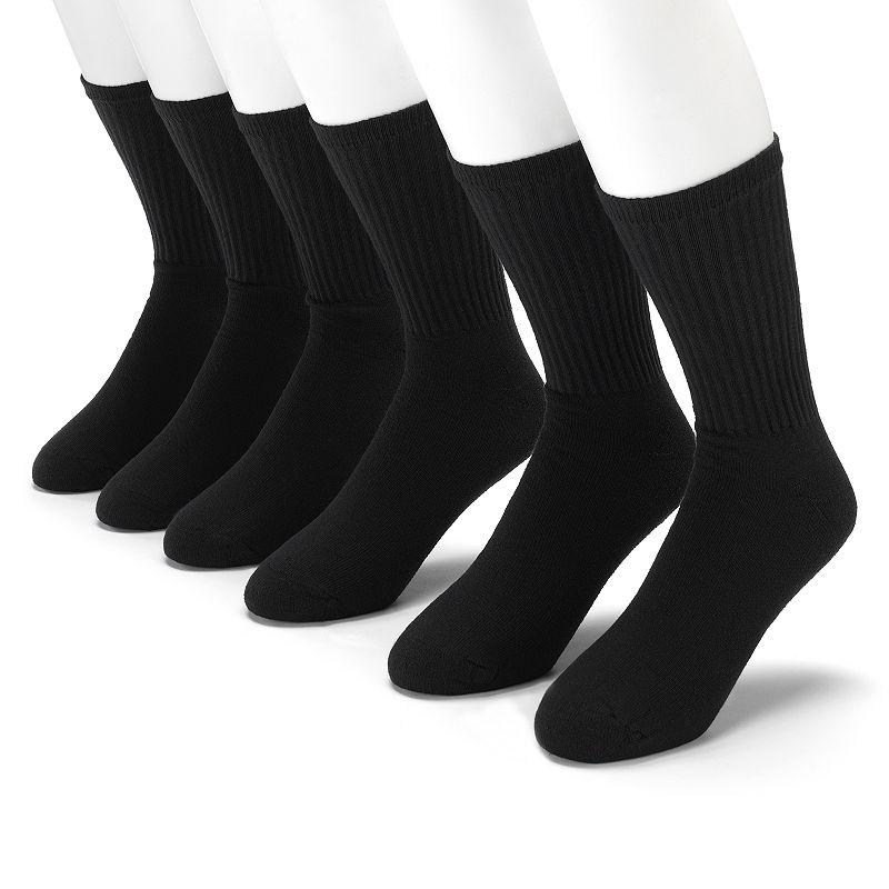 Gildan Platinum 6-pk. Performance Crew Socks - Men