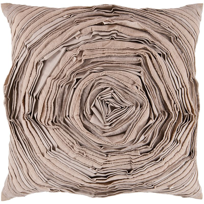 Decor 140 Buchs Rosette Decorative Pillow - 18'' x 18''