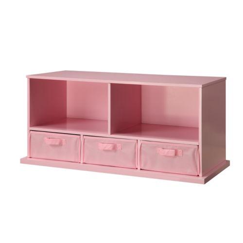 Badger Basket Shelf Storage Cubby - Pink