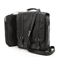 AmeriLeather Leather Convertible Briefcase
