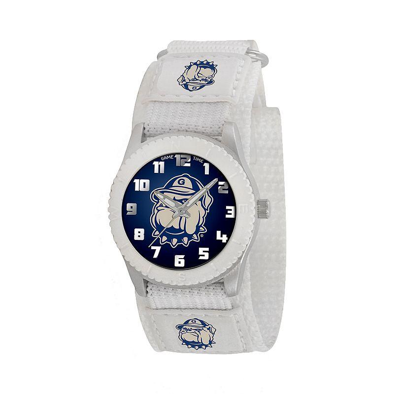 Game Time Rookie Series Georgetown Hoyas Silver Tone Watch - COL-ROW-GRG - Kids