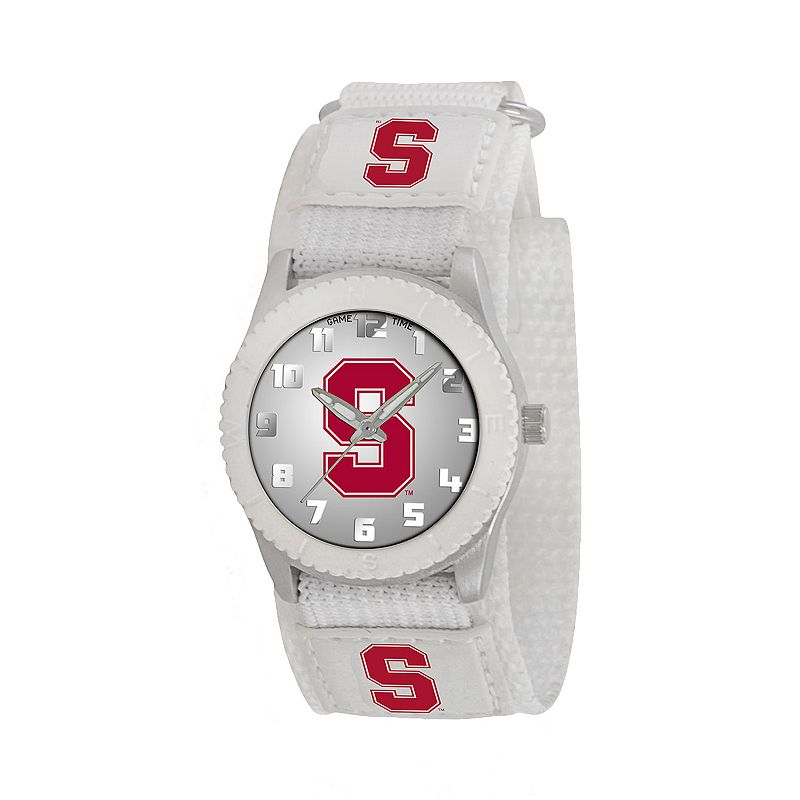 Game Time Rookie Series Stanford Cardinal Silver Tone Watch - COL-ROW-STN - Kids