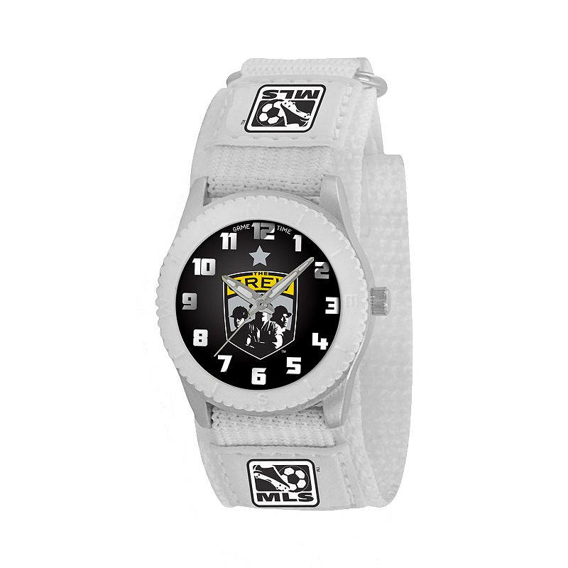 Game Time Rookie Series Columbus Crew Silver Tone Watch - MLS-ROW-CMB - Kids
