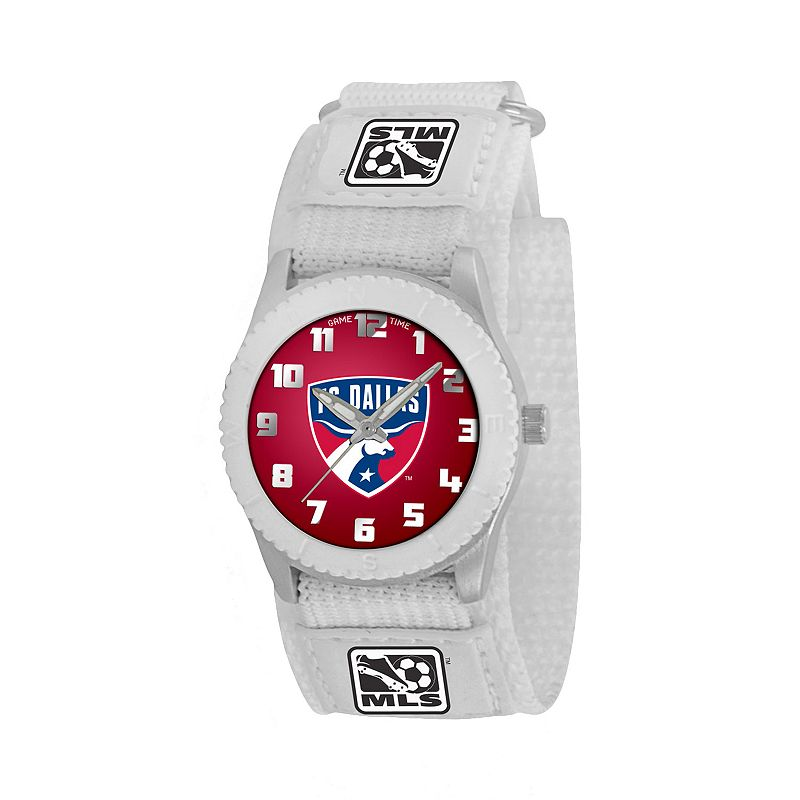 Game Time Rookie Series FC Dallas Silver Tone Watch - MLS-ROW-DAL - Kids