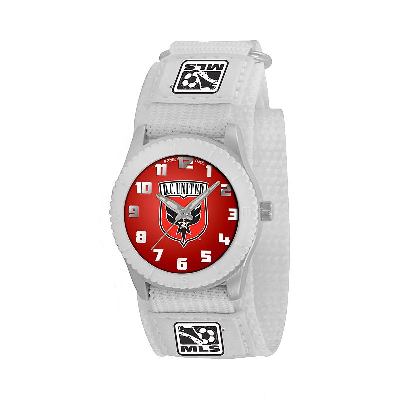 Game Time Rookie Series DC United Silver Tone Watch - MLS-ROW-DC - Kids
