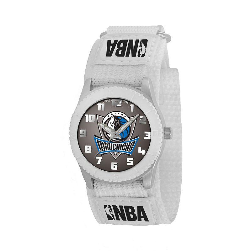 Game Time Rookie Series Dallas Mavericks Silver Tone Watch - NBA-ROW-DAL - Kids