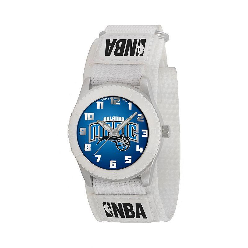 Game Time Rookie Series Orlando Magic Silver Tone Watch - NBA-ROW-ORL - Kids