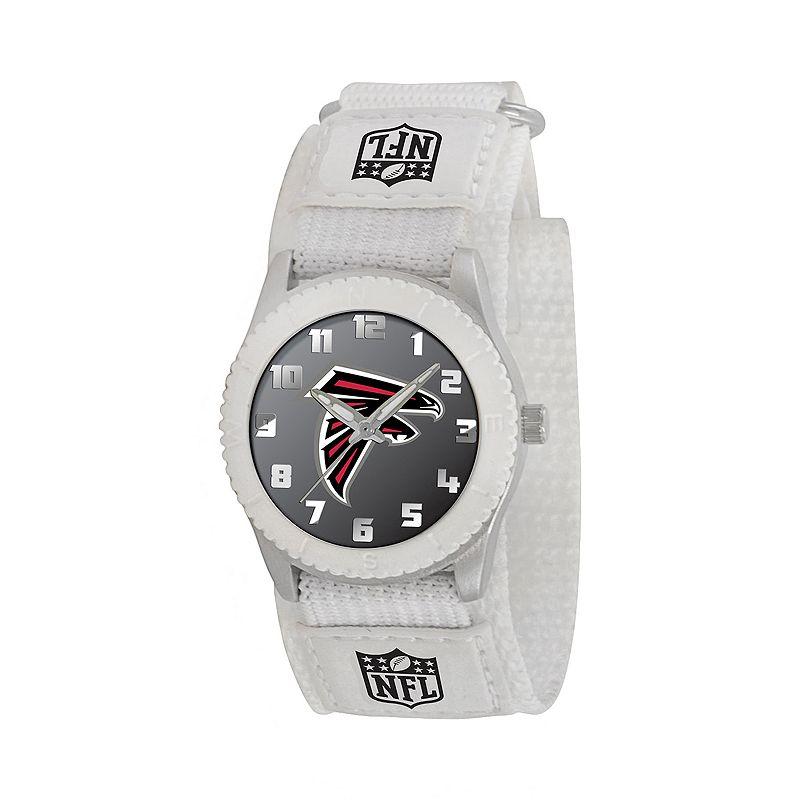 Game Time Rookie Series Atlanta Falcons Silver Tone Watch - NFL-ROW-ATL - Kids