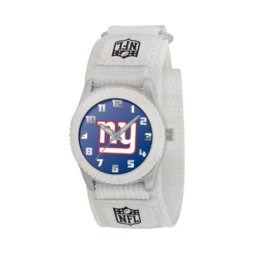 Game Time Rookie Series New York Giants Silver Tone Watch - NFL-ROW-NYG - Kids