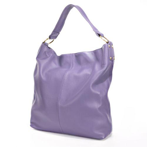 AmeriLeather Cynthia Leather Bucket Bag