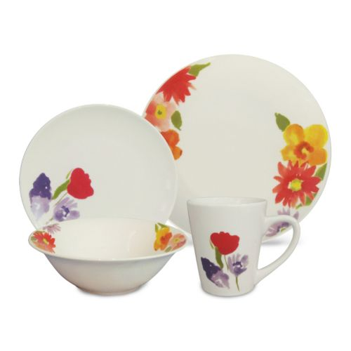 SONOMA life + style® Flora 16-pc. Dinnerware Set