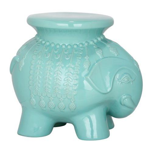 Safavieh Elephant Ceramic Garden Stool