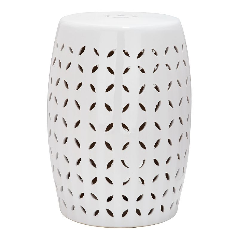 Safavieh Lattice Petal Ceramic Garden Stool