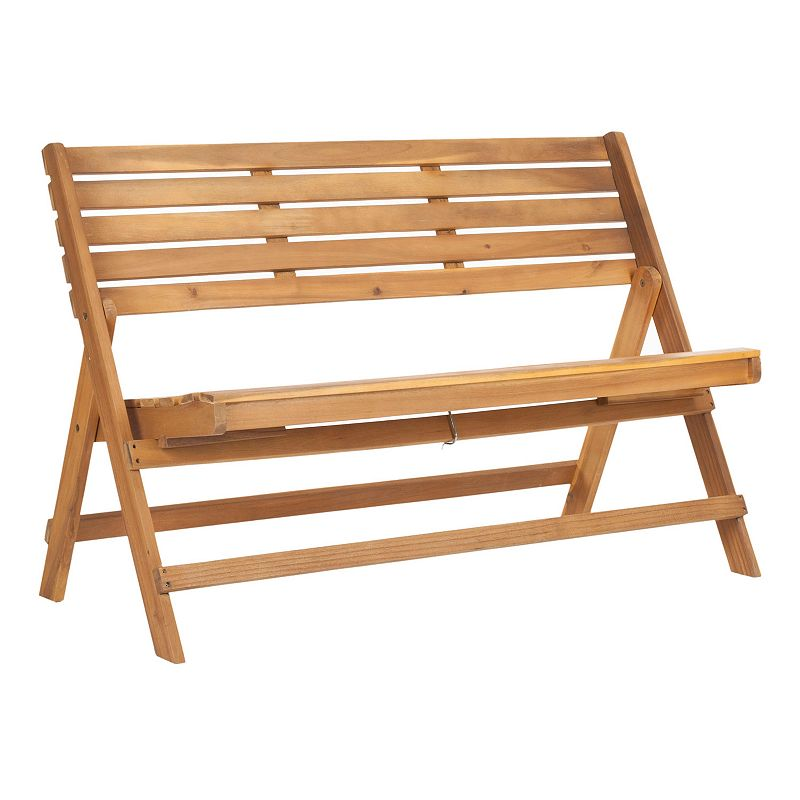 Safavieh Luca Outdoor Folding Bench