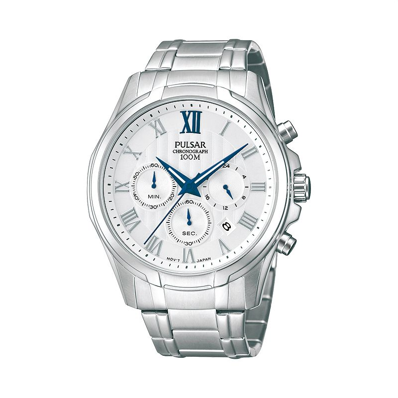 Pulsar Men's Stainless Steel Chronograph Watch - PT3399