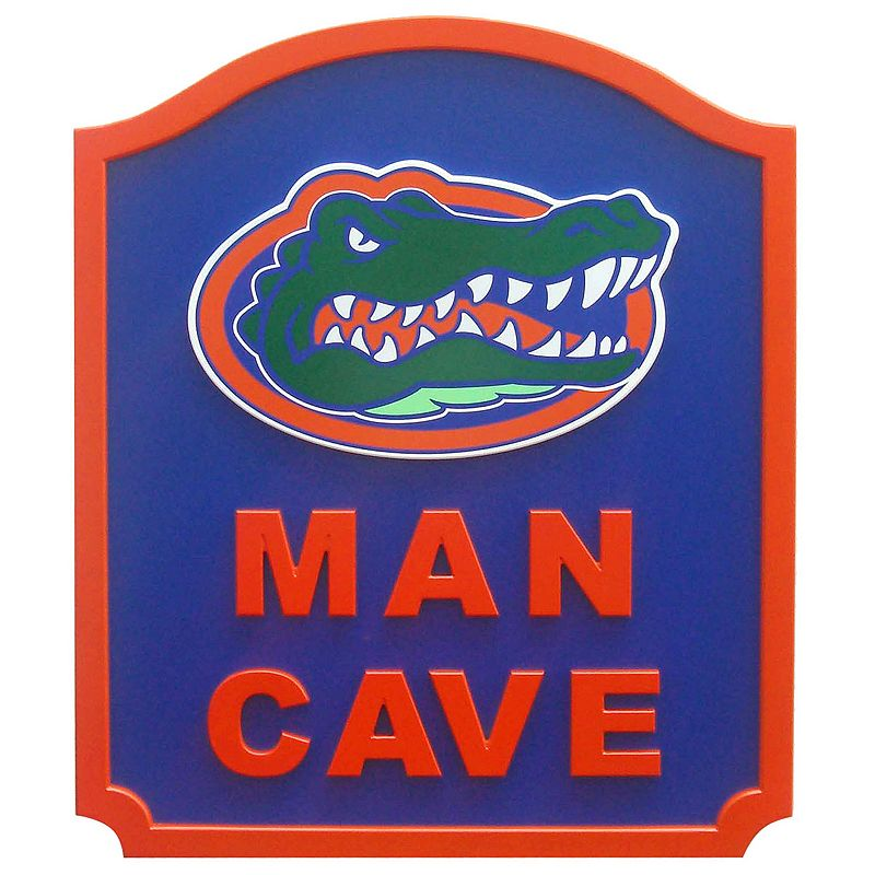 Florida Gators Man Cave Shield Wall Art